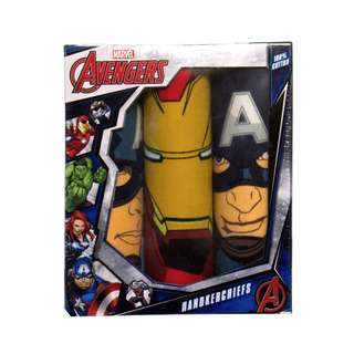 Avengers Handkerchief Set of 3