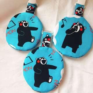 有趣的黑熊滿滿平安袋