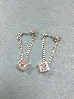 [全新] 925銀針 閃石耳環