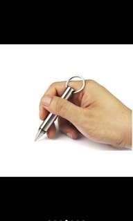 Mini portable tactical pen self defense