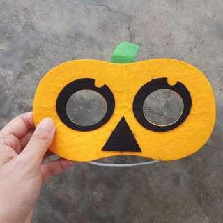 🚚 DIY Felt Pumpkin Mask