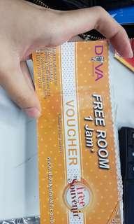 Voucher Free 1 jam karaoke Diva