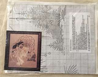 Earthdancer Cross-stitch Pattern