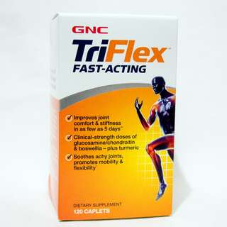 GNC TriFlex 速效關節配方120粒