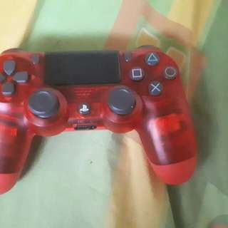 PS4 controller red. Slightly used. 2k only