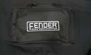 Fender rumble bass amp head bag