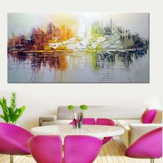🚚 Abstract Art Oil Painting 60cm x 120cm