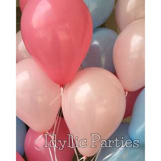 Helium Latex Bouquet [5 Balloons to 1 weight]