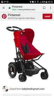Joovy toofold Double stroller