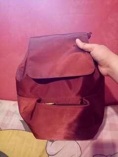 Maroon Bagpack (PRELOVED)