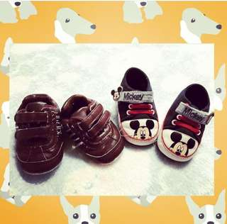 Baby shoes preloved up to 6mos