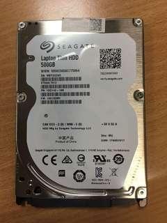 全新手提電腦Hard Disk