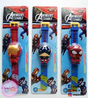 Avengers wrist watch for kids