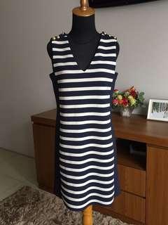 ZARA stripes mini dress