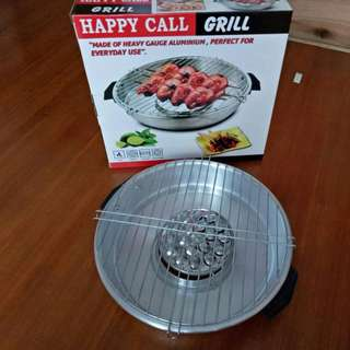 Happy Call Magic Grill Roaster Alat Panggang Praktis Tanpa Perlu Arang