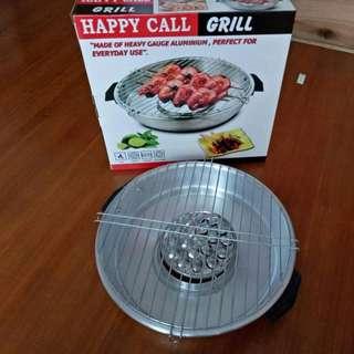 Happy Call Magic Grill Roaster Alat Panggang Praktis Tanpa Perlu Arang