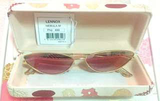 Sunnies Studios - The Lennox | Nebula Mirror - Slim Cat Eye Sunnies