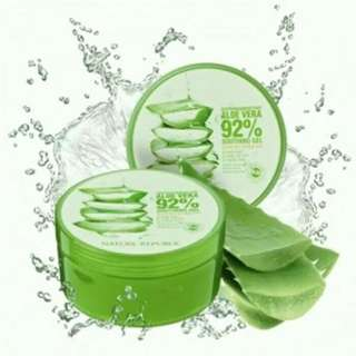 NATURE REPUBLIC SOOTHING & MOISTURE  ALOE VERA 92% (ORIGINAL 100% IMPORT)