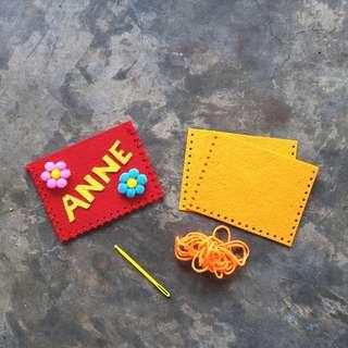 🚚 Sew It Yourself Felt Card Holder