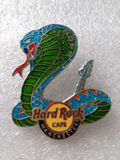 Hard Rock Cafe Pins ~ MANCHESTER HOT 2013 YEAR OF THE SNAKE PIN!