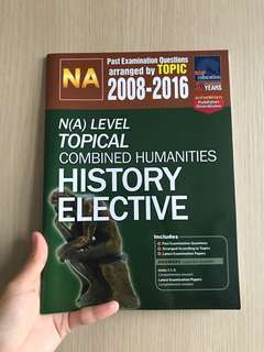 NA history topical ten year series book
