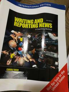 Writing and Reporting News - new