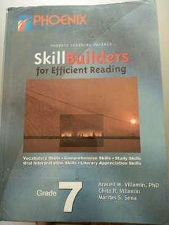 Grade 7 Skill Builders for Efficient Reading