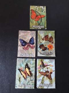 Malaysia Stamps Butterfly Series