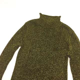 H&M Glitter Turtleneck