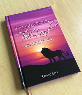 Devotional Book - Standing Before the Lord by Pastor Davy Sim