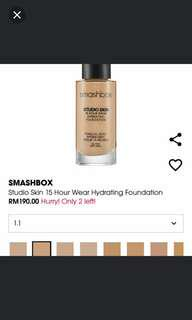 Smashbox Foundation CC Cream Combo