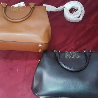 Michael kors florence satchel purse