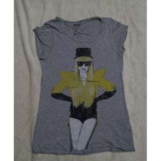 ZARA Lady Gaga top