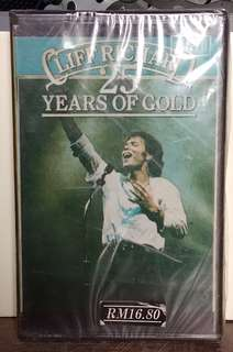 Cliff Richard 25 years of gold cassette