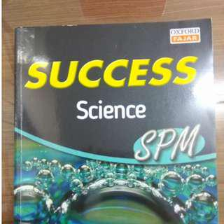 SUCCESS SPM SCIENCE Reference Book
