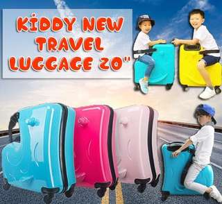 "Kiddy New Travel Luggage 20"""
