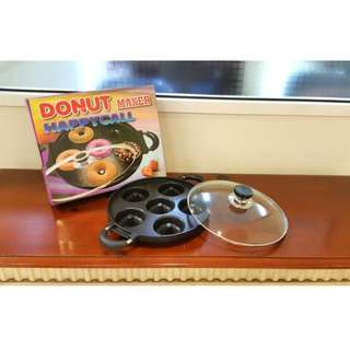Snack maker donut donat cetakan kue berbahan tebal
