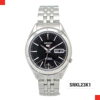 FREE DELIVERY *SEIKO GENUINE* [SNKL23K1] 100% Authentic with 1 Year Warranty!