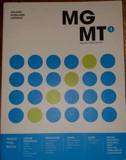 MGMT3 3rd Asia-Pacific Edition