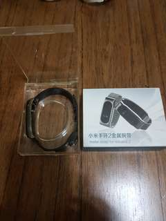 Stainless steel strap for Xiao mi band 2