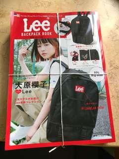 LEE 雜誌背包(日本)