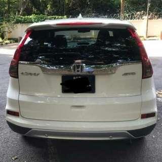 Honda CRV 4WD 2.4 2015