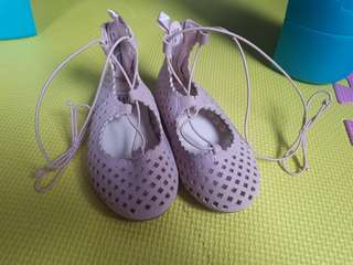New Unused Baby GAP ballerina shoes for her