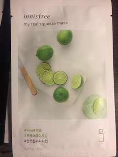 Innisfree Lime mask