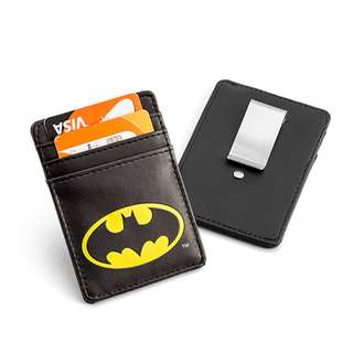 Justice League Batman Card Wallet with Money Clip