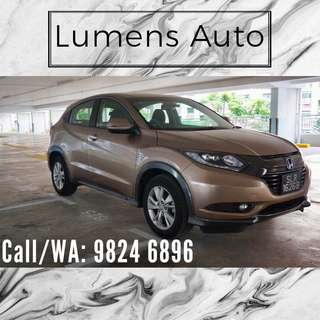 Honda Vezel - Car Rental for Grab/Personal use