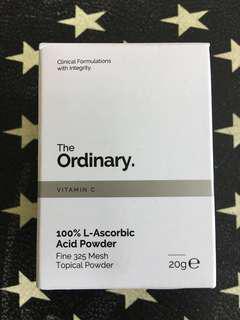 The Ordinary 100% l-ascorbic acid powder fine 325 mesh topical powder