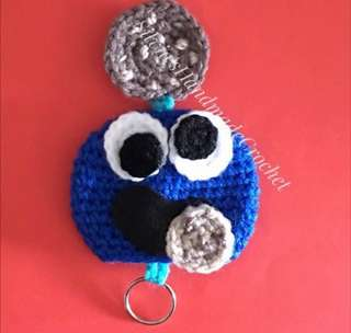 💕 Crochet Key Holder