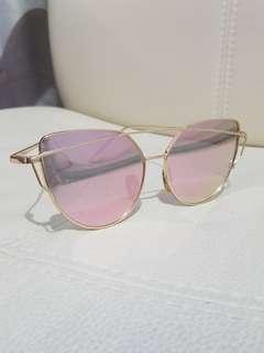 Forever New Cat Eye Rose Gold Sunglasses