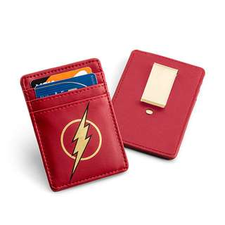Justice LeagueFlash Card Wallet with Money Clip